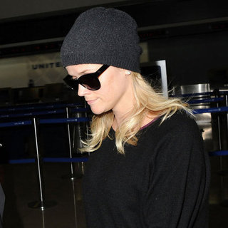 Reese Witherspoon Wearing a Hat Pictures at LAX
