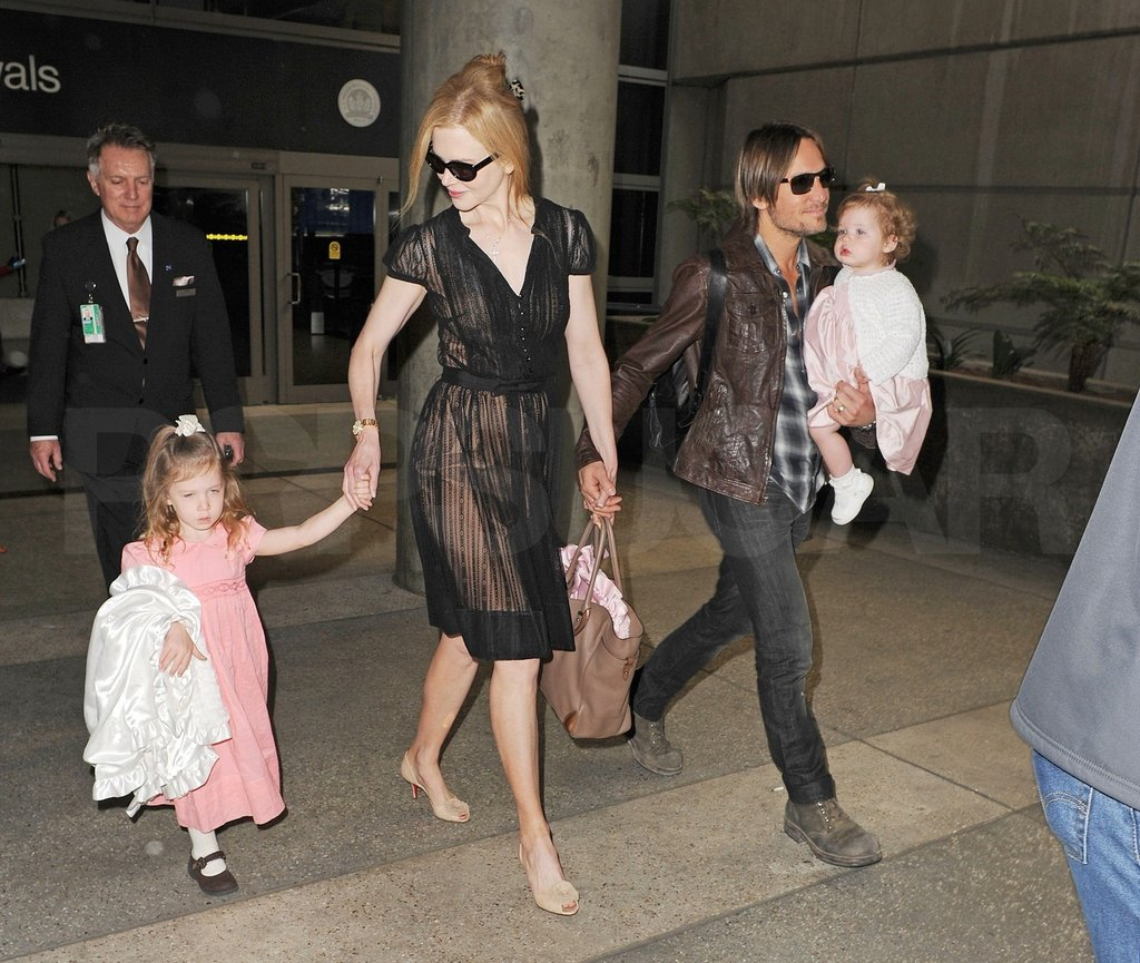 Nicole Kidman and Keith Urban Wrap Up Aussie Projects to Take Off With Sunday and Faith