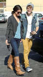 Justin Bieber and Selena Gomez had an IHop date in November 2011.