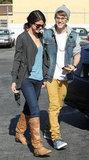Justin Bieber and Selena Gomez had an IHop date in November 2011.
