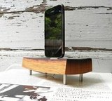 Wood iPhone and iPod Charger ($65)
