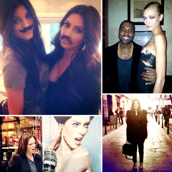 Pictures of Celebrities and Models on Twitter March 1, 2012