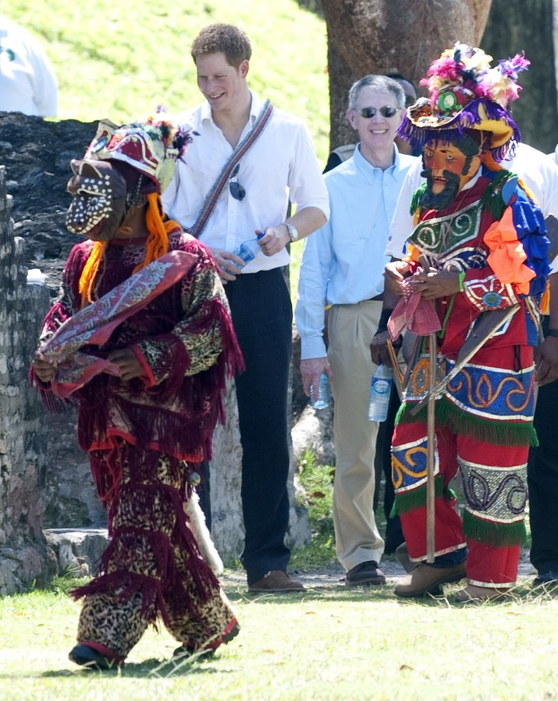 Prince Harry Is a Hit and Takes His Party From Belize to the Bahamas
