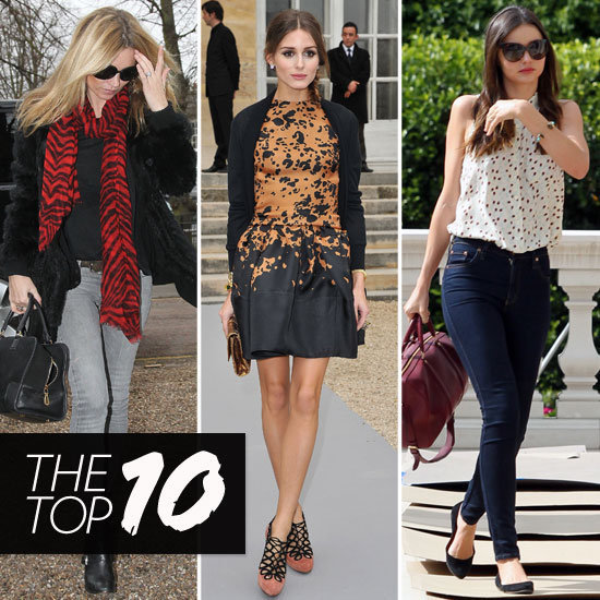 Fab's Top 10 Celebrity Looks of the Week — Kate, Olivia, Miranda, and More!