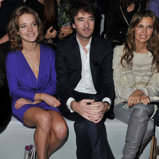 Natalia Vodianova, Antoine Arnault and Dasha Zhukova at Christian Dior