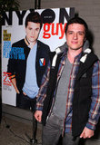 Josh Hutcherson is the latest cover model for Nylon Guys.
