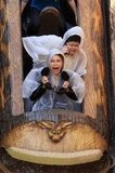 Sofia Vergara Screams While Filming Modern Family on Splash Mountain