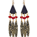 """I'm on the hunt for tribal-inspired jewelry that still has a polish to it. These are perfect for music festival season."" — Marisa Tom, associate editor