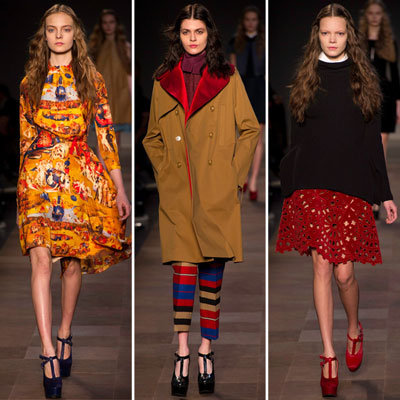 Review and Pictures of Carven Autumn Winter 2012 Milan Fashion Week Runway Show