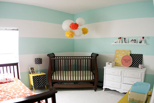 A Versatile Nursery and Big Kid Room
