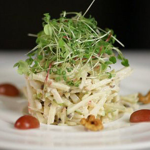 Step-by-Step Waldorf Salad Slideshow