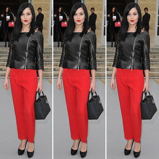 Leigh Lezark Red Pants