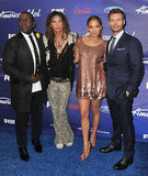 Jennifer Lopez, Randy Jackson, Ryan Seacrest, and Steven Tyler hung out in LA.