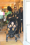 Rachel Zoe was on stroller duty with Skyler Berman.