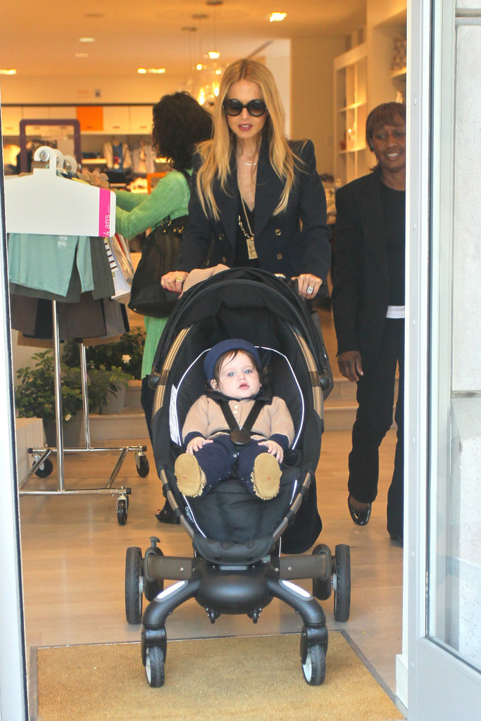 Rachel Zoe had Skyler Berman and her son's nanny along for a shopping trip.