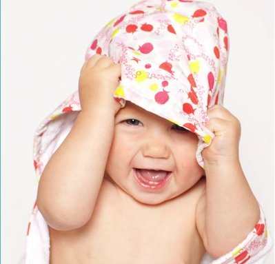 Bebe au Lait Lille Hooded Towel ($40)