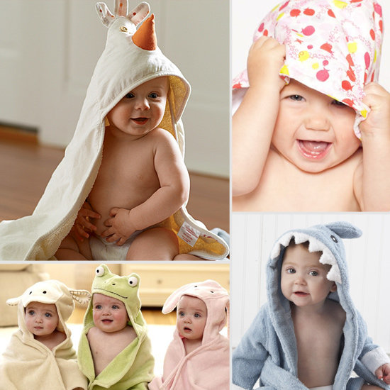 The 10 Cutest Towels For Baby Bath Time