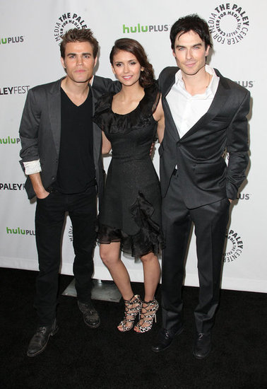 Ian, Nina, and Paul on Vampire Diaries' Love Triangle and Shirtless Beach Wishes