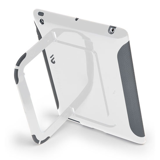 The extra durable Pop! case with stand ($50) has a hard shell and rubber exterior.