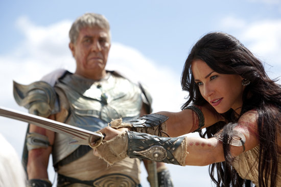 Ciaran Hinds and Lynn Collins in John Carter. Images courtesy of Walt Disney Pictures