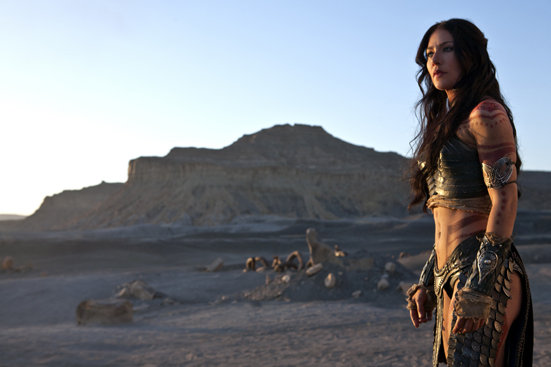 Lynn Collins in John Carter. Image courtesy of Walt Disney Pictures