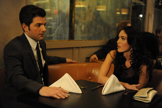 Adam Scott and Megan Fox in Friends With Kids. Photo courtesy of Roadside Attractions