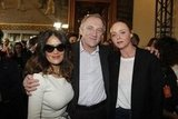 François-Henri Pinault and Salma Hayek said hi to Stella McCartney.