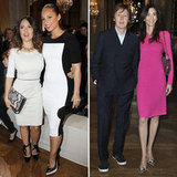 Salma and Alicia Join the McCartneys For Stella's Paris Show