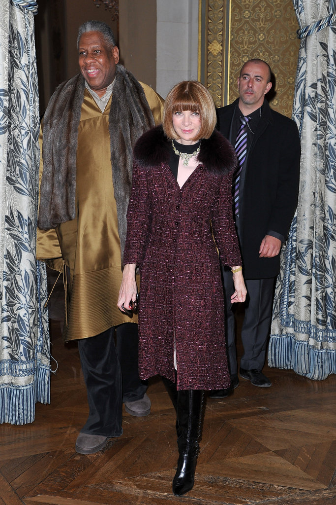 Anna Wintour attended the Stella McCartney Fall 2012 show.