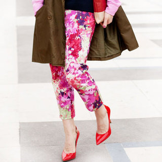 Paris Fashion Week Street Style Trend: Florals