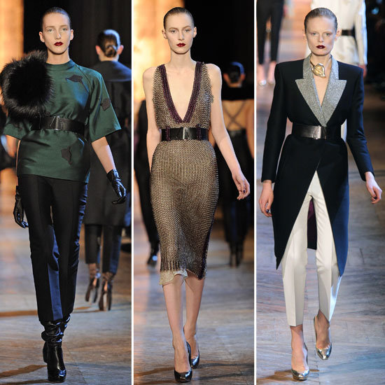 Yves Saint Laurent Runway Fall 2012
