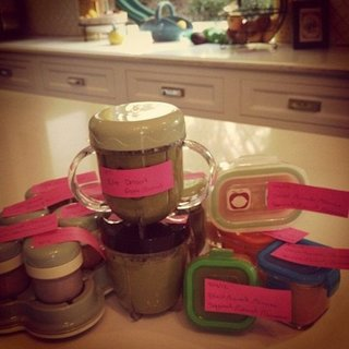 Celebrity Mom Homemade Baby Food