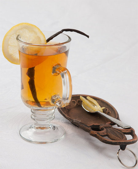 vanilla tea cocktail