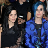 Leigh Lezark and Katy Perry at Viktor & Rolf