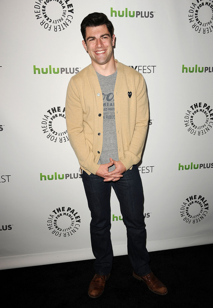 Max Greenfield looked adorable posing for photos before the New Girl PaleyFest panel.