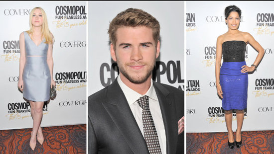Video: Liam Hemsworth Talks Hunger Games and Miley's Clooney Crush at Cosmo's Awards!