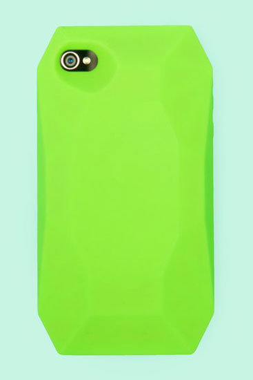 You'll never lose this chunky neon-green Candies Diamond ($35) case for iPhone 4/4S.