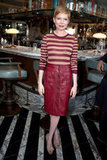 Michelle Williams styled up the perfect modern ladylike look in Jason Wu and Miu Miu pumps.