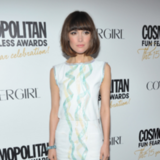 Rose Byrne Oscars Dress and Bangs