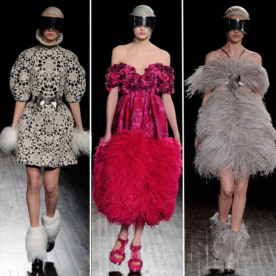 2012 A/W Paris Fashion Week: Alexander McQueen