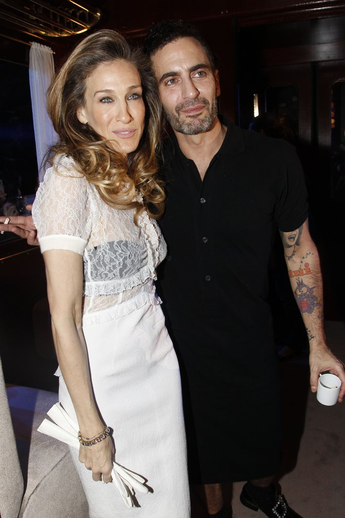 Sarah Jessica Parker said hi to Marc Jacobs.