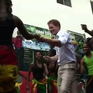 Prince Harry Dancing in Jamaica (Video)