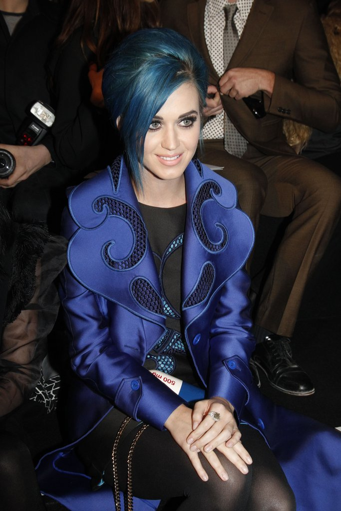 Katy Perry attended Viktor & Rolf.