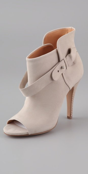 Maison Martin Margiela Open Toe Booties ($955)