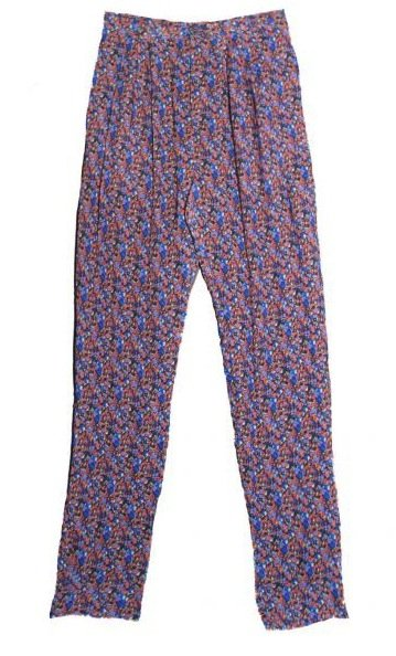 girl. by Band of Outsides Ami Liberty Print Pants ($189, originally $473)