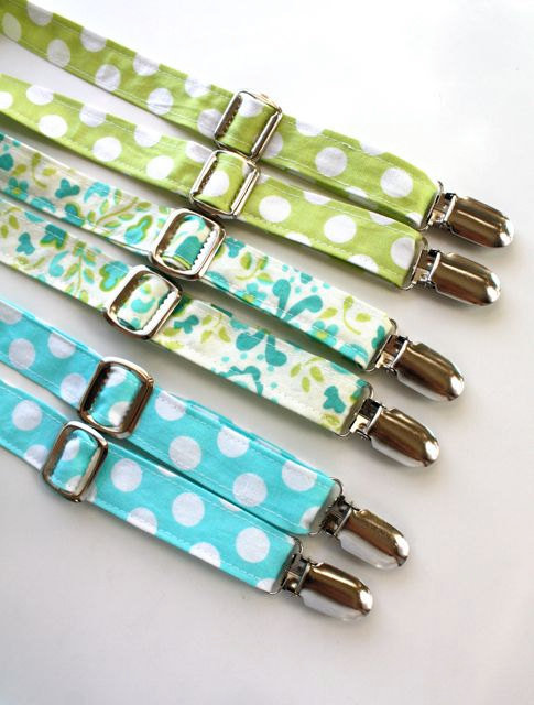 Little Guy Adjustable Spring Suspenders ($17)