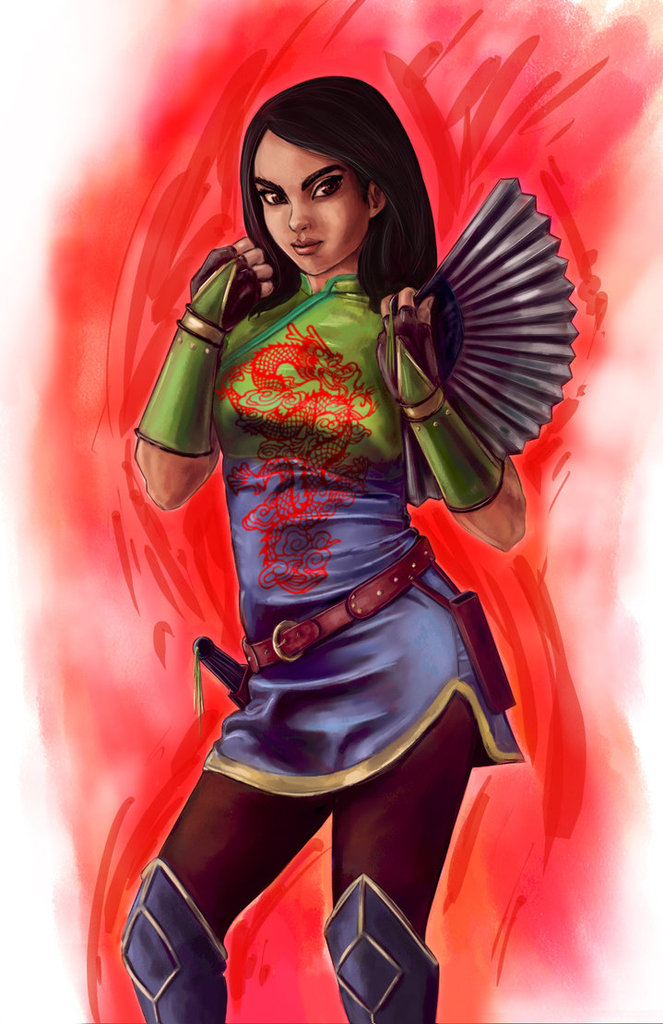Fighter Mulan