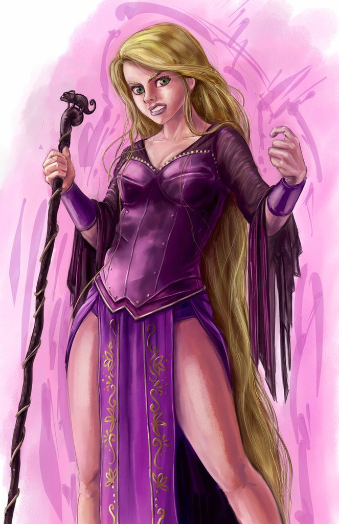 Fighter Rapunzel
