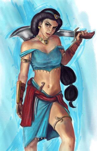 Fighter Jasmine