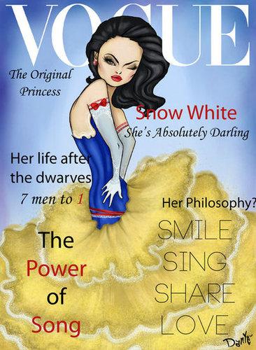 Vogue Snow White